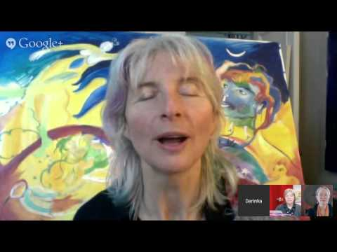 Art as a Conduit for Conscious Evolution with Darinka Blagaj fine artist