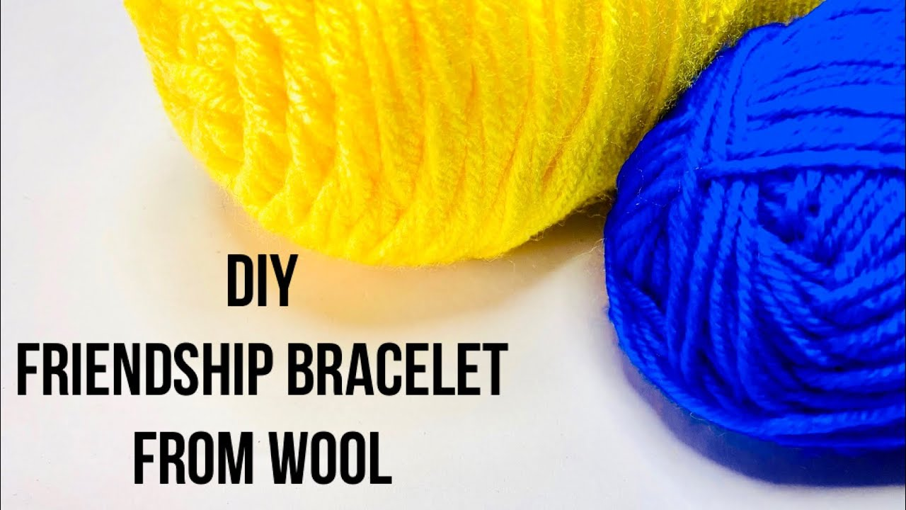 Easy Friendship Band from Wool | How to make Friendship Band at Home | Woolen Rakhi in Lockdown |