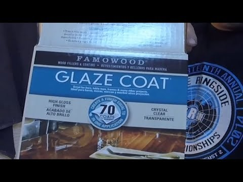 Product Review (FamoWood Glaze/Clear Coat)