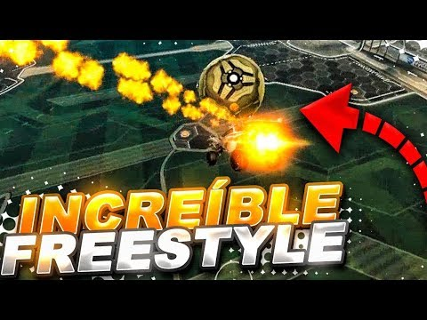 **REACCIONANDO AL MEJOR FREESTYLE de ROCKET LEAGUE**