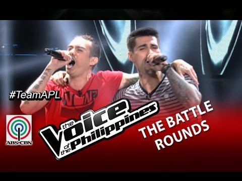 "The Voice of the Philippines Battle Round ""I Would Do Anything For Love"" by Jason and Bradley"