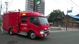 消防車,救急車,パトカー,ガス,ドクターカー 緊急走行Part28.
