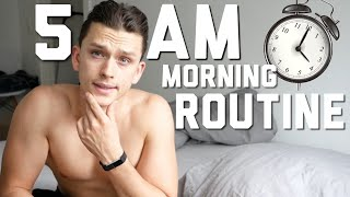 My Realistic 5AM Summer Morning Routine / Productive and Healthy ! 2019