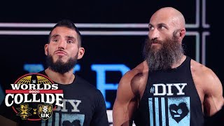 #DIY reunites as Gargano & Ciampa make their entrance: WWE Worlds Collide, Jan. 25, 2020