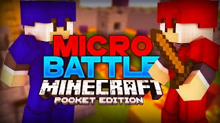 [0.11] MICRO BATTLES FOR MCPE! - Minecraft: Pocket Edition Server Review