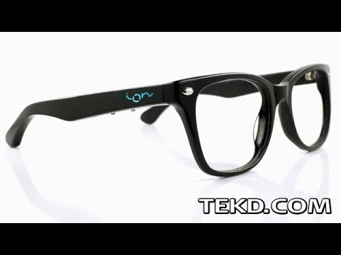 ION Glasses Smart Frames for Mobile Device Control