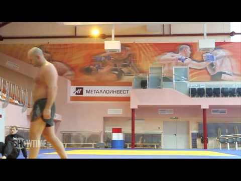 Fedor Training for the Strikeforce Heavyweight Tournament - SHOWTIME MMA