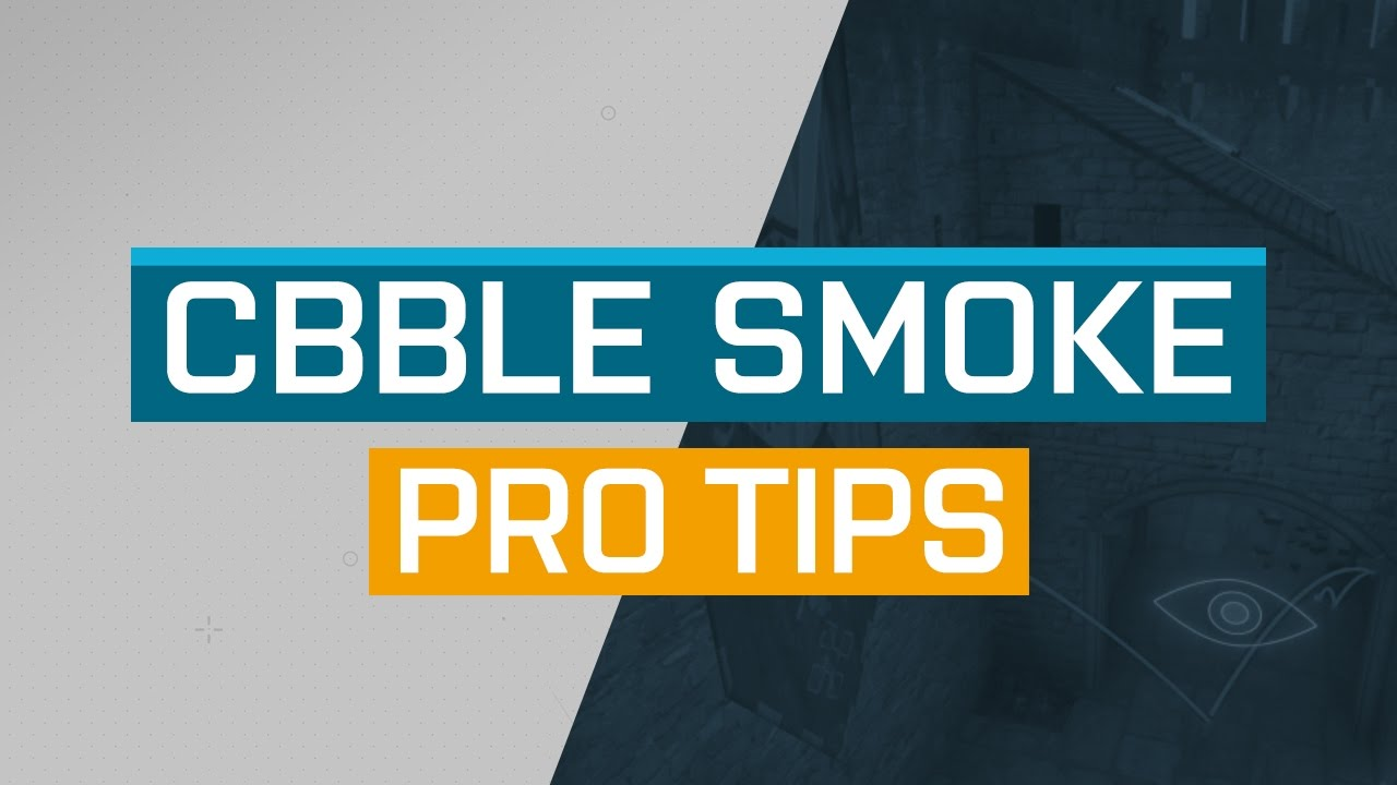 CS:GO - ProTips: Cbble - B-Halls Counter-Rush Smoke