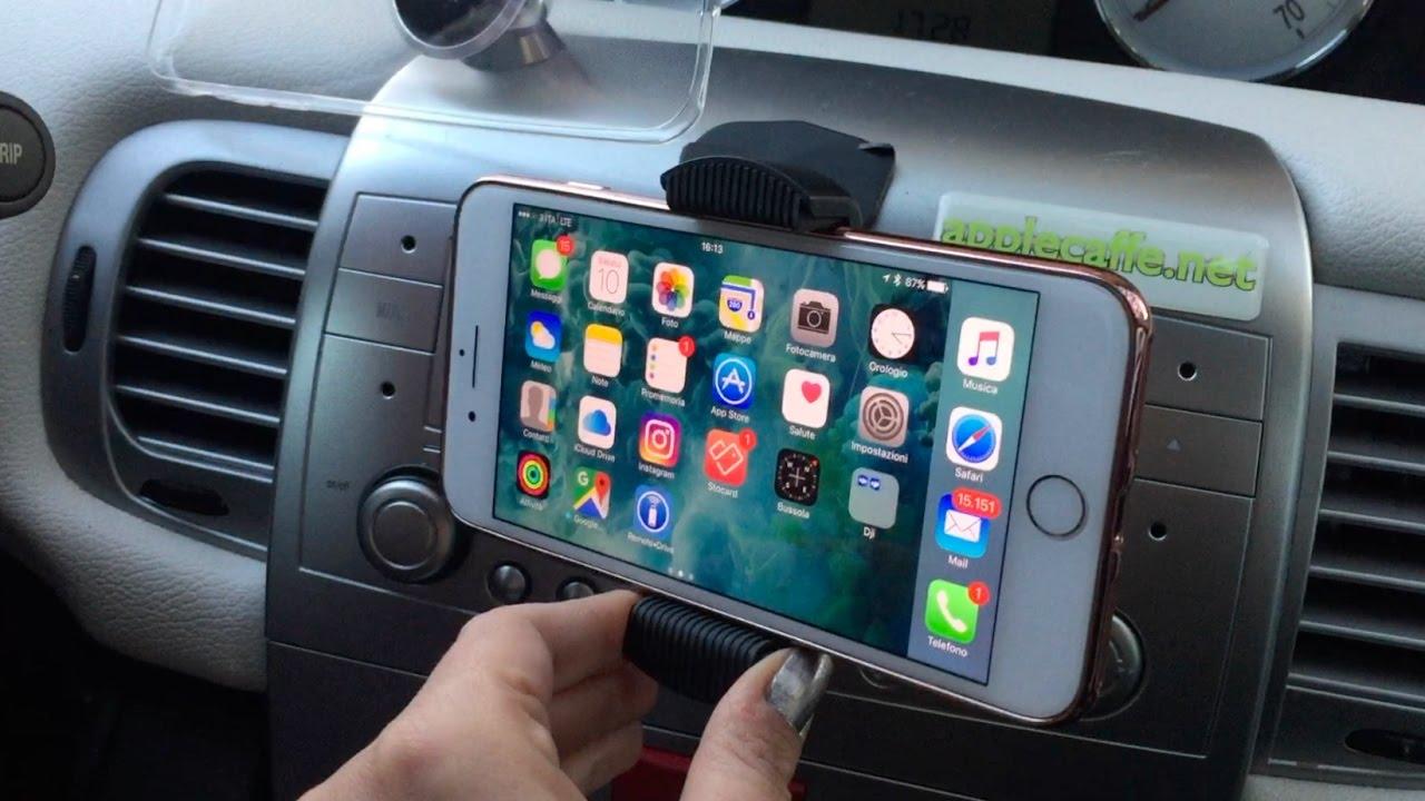 portacellulare iphone X per auto