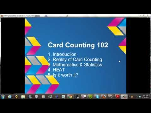 Blackjack Card Counting 102: for aspiring counters