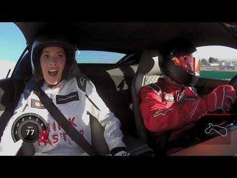 Audi Think Faster: Episode 3 Olivia Munn Highlights