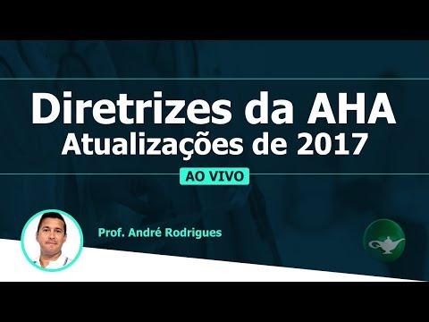 Diretrizes da AHA - Atualizações de 2017   Prof. André Rodrigues   19/01 às 19h