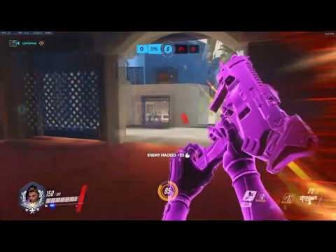Overwatch Clean Sombra Game By Best Sombra Pro Codeyniku