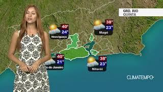 Previsão Grande Rio - Calor intenso e tempo firme