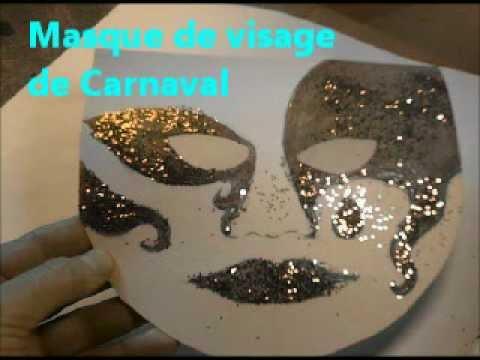 masque de visage de carnaval fabriquer pas pas et d corer youtube. Black Bedroom Furniture Sets. Home Design Ideas