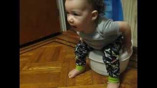 Hilarious potty prep 16 months