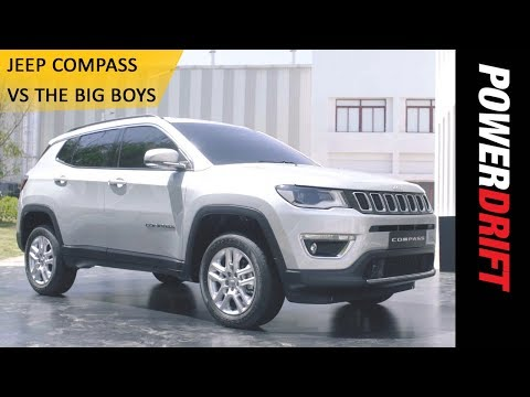Jeep Compass vs The Big Boys : PowerDrift
