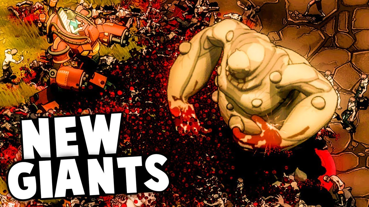 EPIC NEW MASSIVE ARMY OF GIANTS! (They Are Billions Update Gameplay)