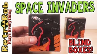Taito Space Invaders Blind Box Mini-Figure Unboxing