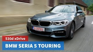 BMW Seria 5 530d Touring xDrive 2017 / 4K Test Drive