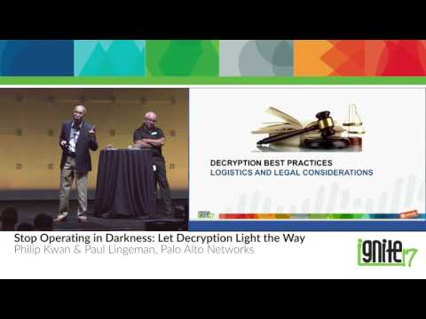 Stop Operating in Darkness – Let Decryption Light the Way