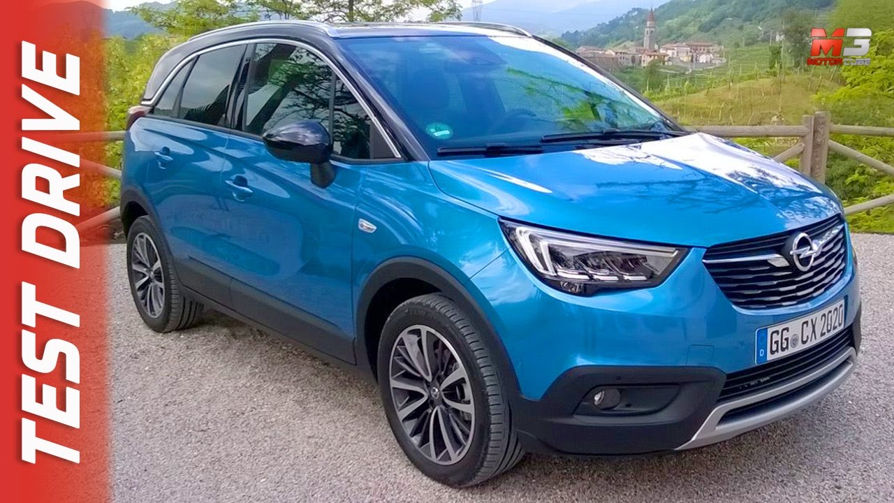 NEW OPEL CROSSLAND X 2017 - FIRST TEST DRIVE - YouTube
