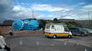 Haggis And Chips At The Tyne Estuary