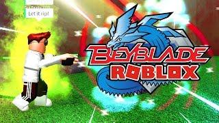 *UNBEDINGT SPIELEN!* BEYBLADE IN ROBLOX (Beyblade: Rebirth)