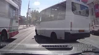 Нарушения ПДД. Маршрутный автобус №99 _АО 902_ 64