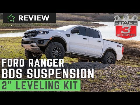 """2019 Ford Ranger BDS 2"""" Leveling Kit Review"""