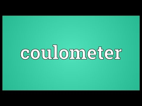 Header of coulometer