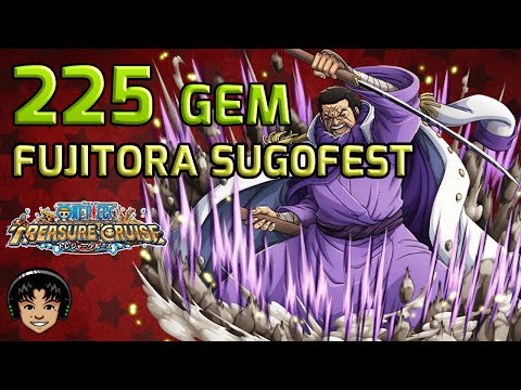 225 Gem Fujitora Sugofest - See No Evil [One Piece Treasure Cruise]