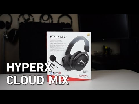 d4065736b6b HyperX Cloud MIX Bluetooth Wired Headset Unboxing & Impressions