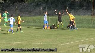 Eccellenza Girone B Antella-Poggibonsi 0-0