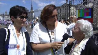 Cristiana Caricato intervista i parenti piemontesi di Papa Francesco