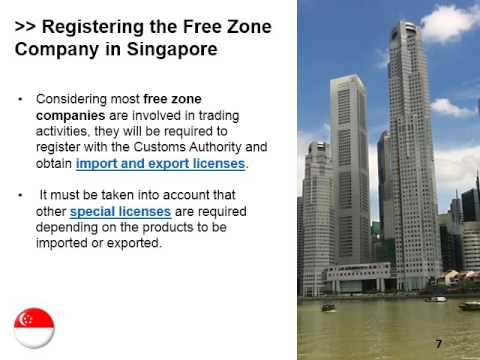 Register a Free Zone Company in Singapore