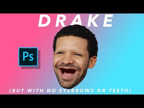 Drake (But With no Eyebrows or Teeth)
