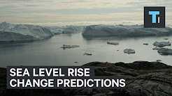 Sea level rise change predictions