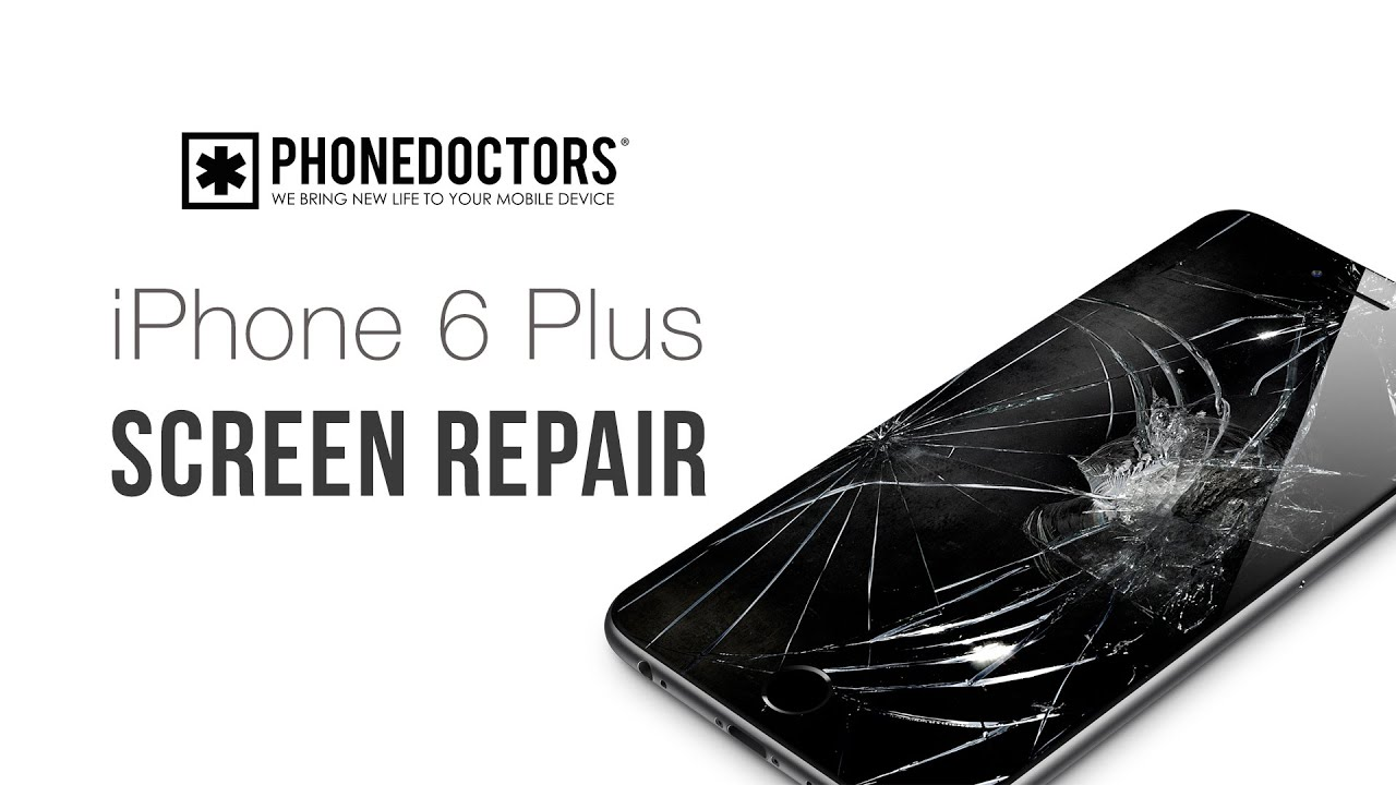 6 Plus On Iphone Stays Apple Screen: How To: IPhone 6 Plus Screen Repair Video