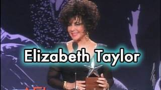 Elizabeth Taylor Accepts the AFI Life Achievement Award in 1993