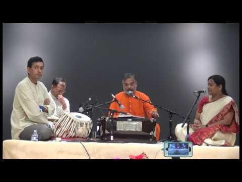 Bhajan Sandhya by Pujya Swami  AdvaitanandaJi (June 30th, 2017)