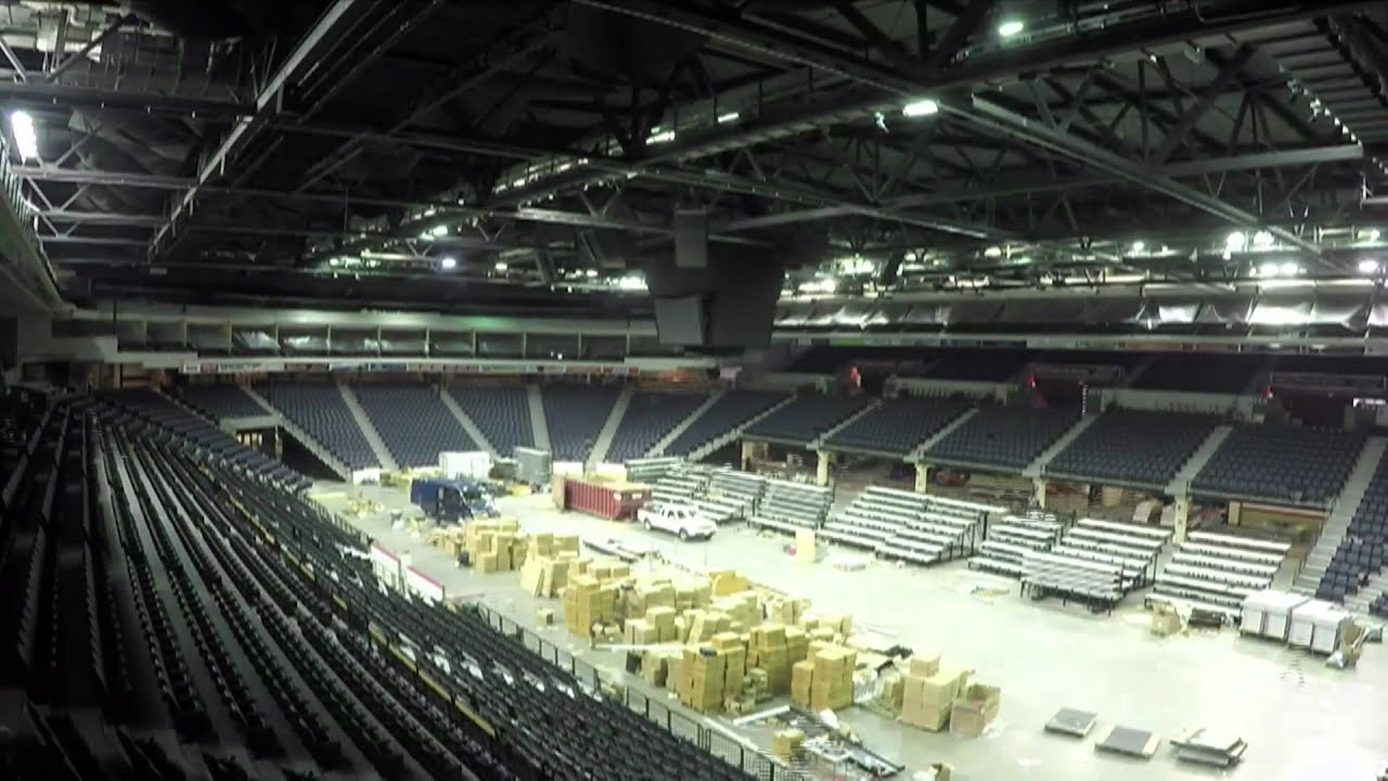 Scotiabank Centre Seat Replacement Timelapse - YouTube