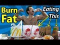 Full Day of Eating FAST FOOD to Lose Weight - Eating junk food Diet Hacks for weight loss IIFYM