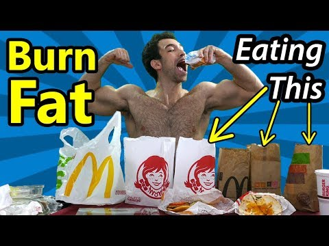Full Day of Eating FAST FOOD to Lose Weight Eating junk food Diet Hacks for weight loss IIFYM