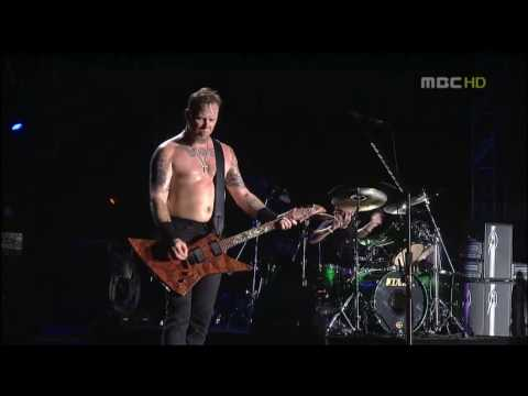 Metallica Master Of Puppets  in Seoul 2006high quality
