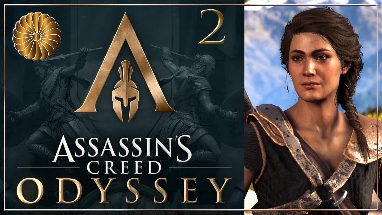 Download Let's Play Assassin's Creed Odyssey - Part 2 - Kassandra walkthrough