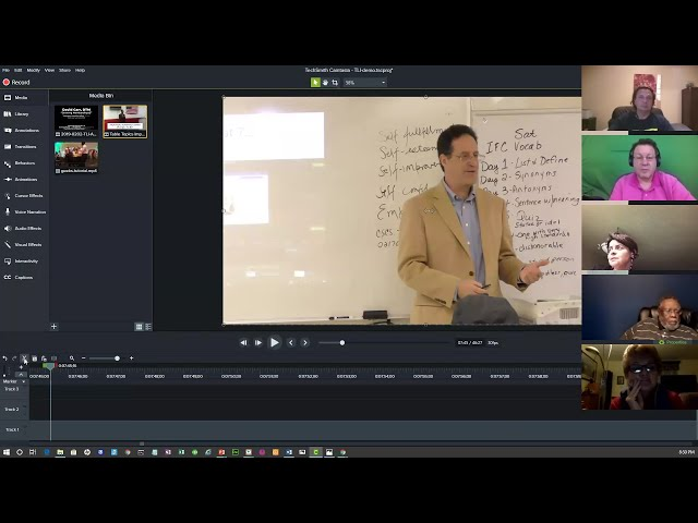 Full Meeting Replay: Workshop on Video Editing and Sharing @ Online Presenters Toastmasters