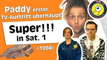 Paddys erster TV-Auftritt in Super!!! in Sat. 1 mit Gast Dirk Bach (1994)