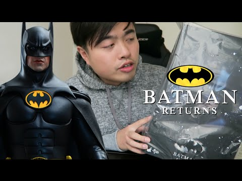 開箱 | HOT TOYS 1/6 BATMAN RETURNS UNBOXING