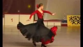 Камерилова Настя Фламенко (Fusion).flv